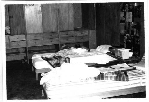 Foto do quarto de um apartamento - CRUSP